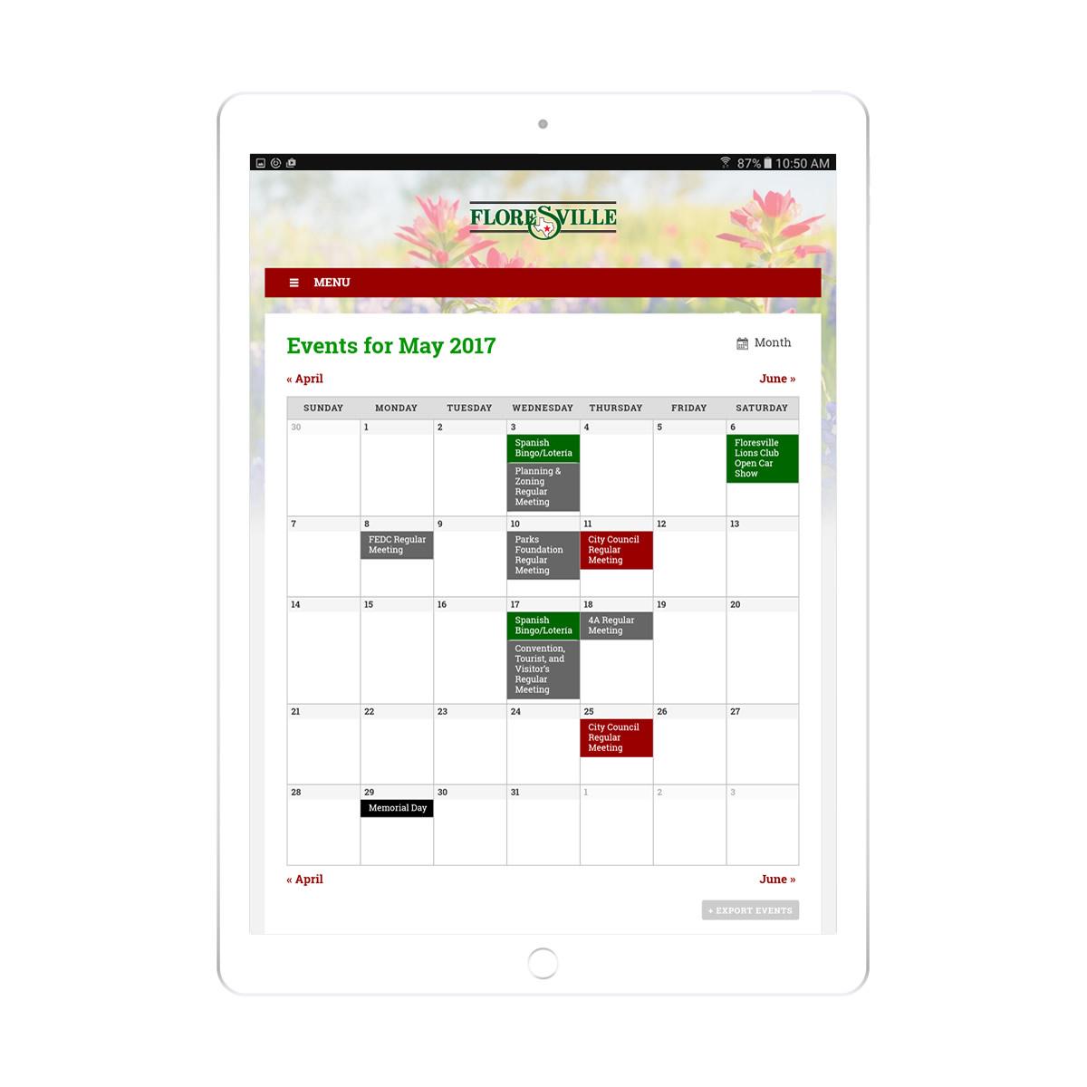 tablet-calendar